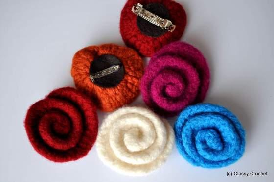 Rosette Crochet Flower Tutorial | Classy Crochet