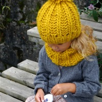 Free Pattern: Knit Fisherman Ribbed Hipster Hat