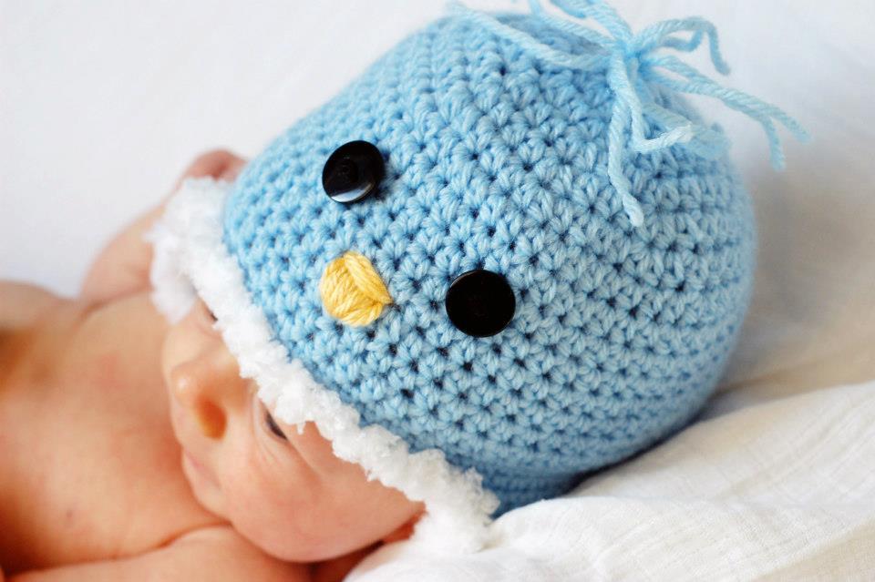 Crochet Penguin Birdy Hat Pattern Classy Crochet