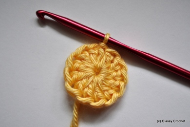 Crochet Daisy Tutorial | Classy Crochet