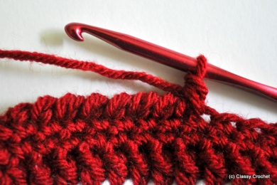 Reverse Single Crochet Tutorial | Classy Crochet