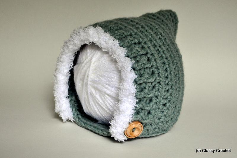 Free Pattern: Crochet Elf Pixie Hat (v.2) | Classy Crochet