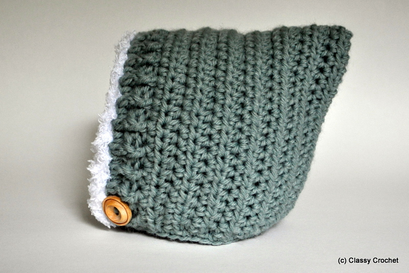 Crochet Pattern Baby Pixie Hat : Free Pattern: Crochet Elf Pixie Hat (v.2) Classy Crochet