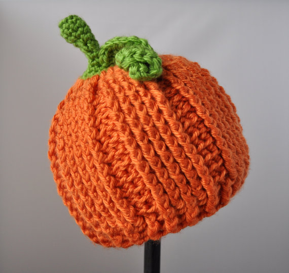 Crochet Halloween Baby Hat Pattern : Crochet Little Pumpkin Hat Pattern Classy Crochet