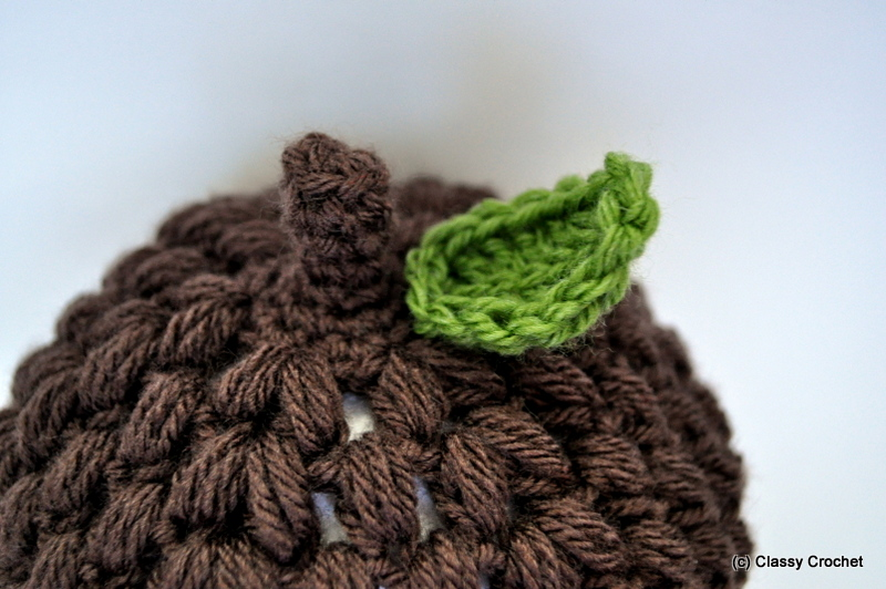 Acorn Leaf Knitting Pattern : Crochet Awesome Acorn Hat Pattern Classy Crochet