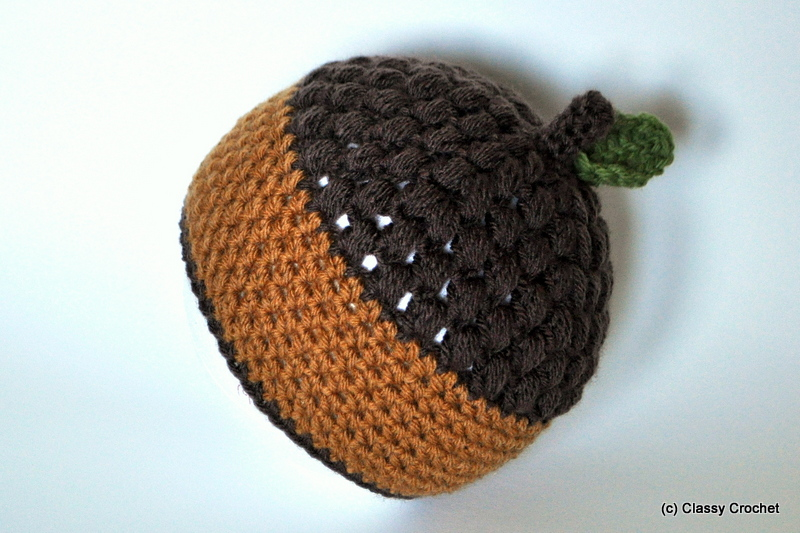 Free Crochet Baby Acorn Hat Pattern : Crochet Patterns Classy Crochet