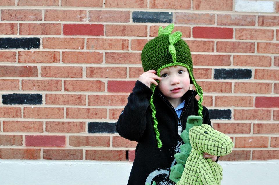 Crochet Dapper Dino Hat Pattern Classy Crochet