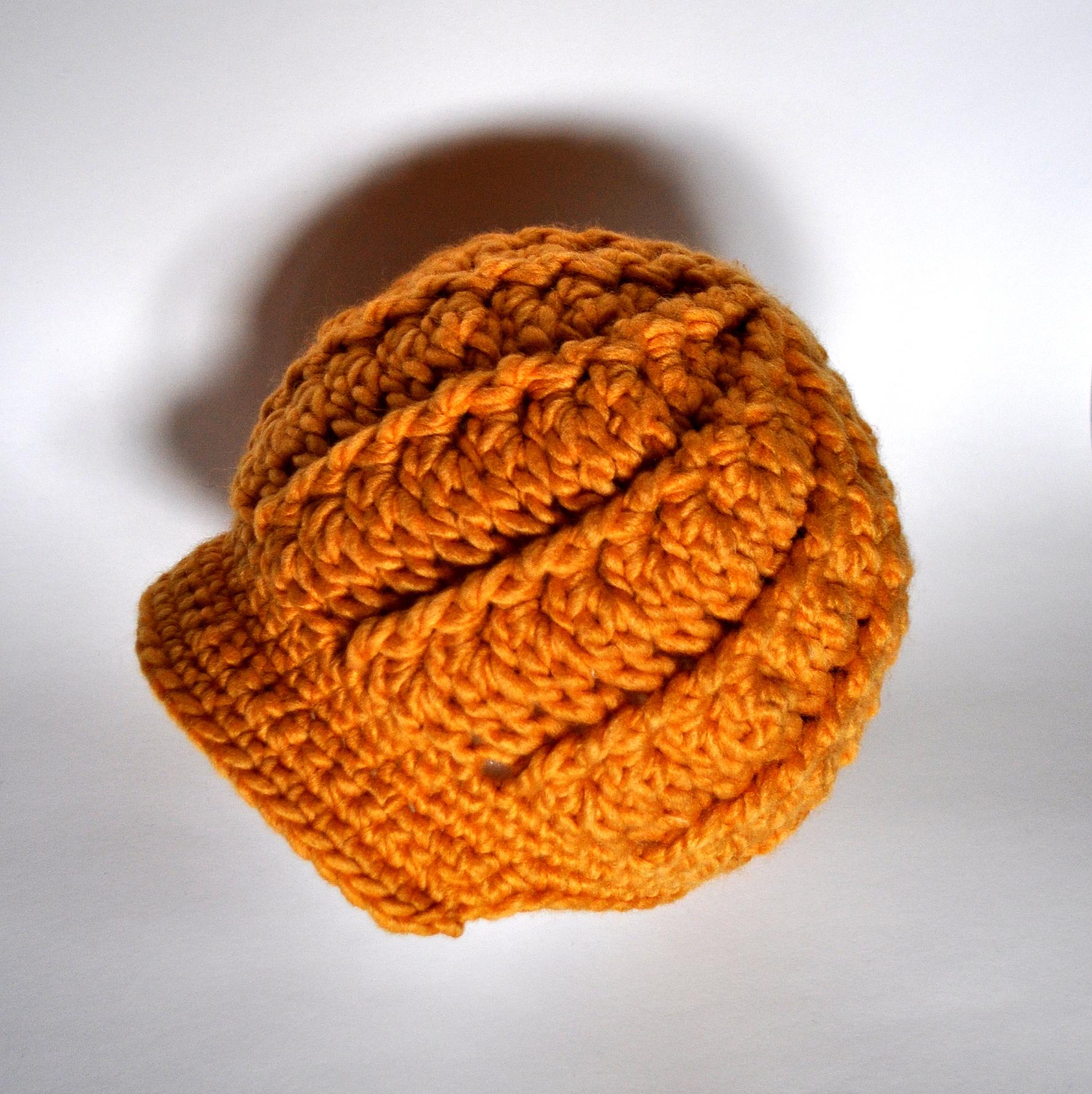 Free Pattern: Crochet Women s Swirly Brimmed Hat Classy ...