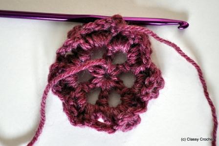 Free Pattern: Knit Slouch Flower Hat | Classy Crochet