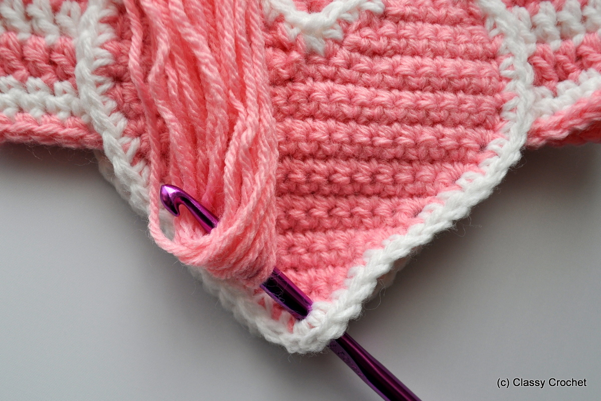 How to  Braids on Earflap Hats  acc19c5864f