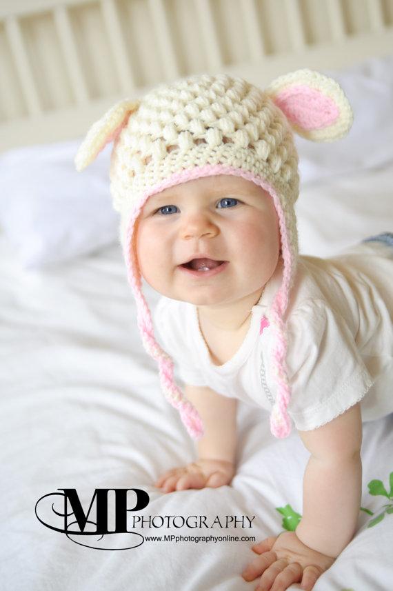 Crochet Little Lamb Hat Pattern  9317cacfd0a