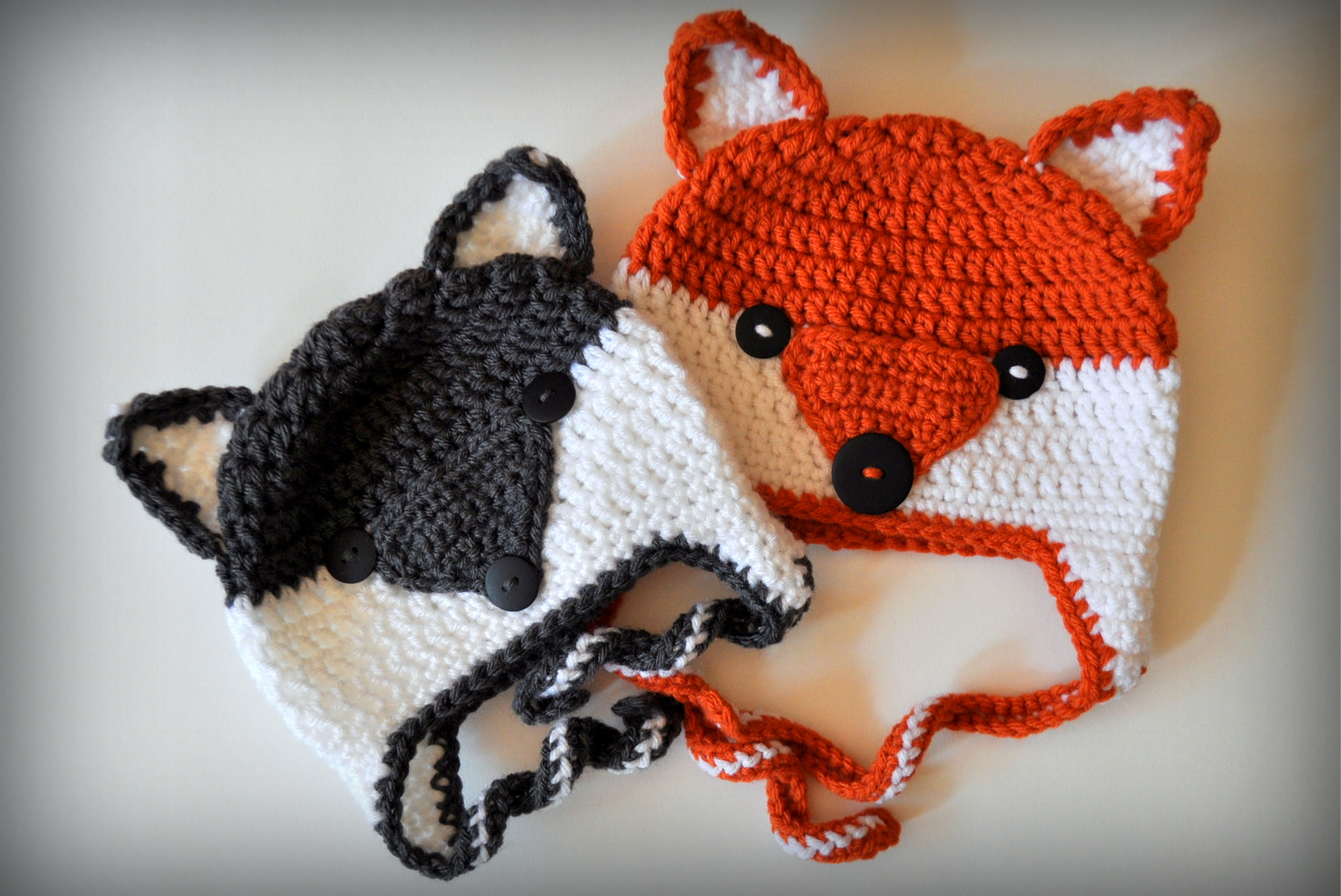 Crochet Fox Hat : Foxy Wolfie Crochet Hat Pattern Classy Crochet