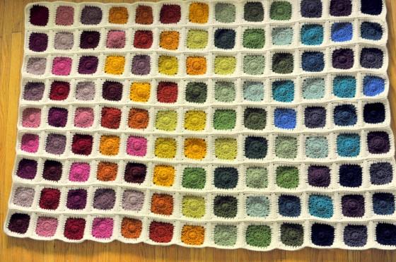 Crochet Rainbow Blanket | Classy Crochet
