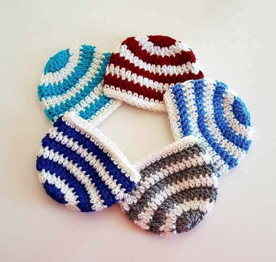 Preemie Crochet Hats Day 1 The Basic Beanie Classy Crochet