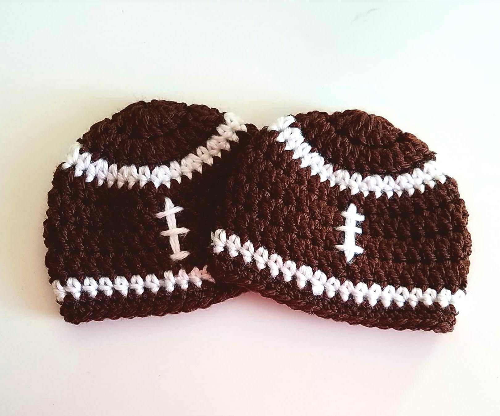 Preemie Crochet Baby Hats Day 2: The Football