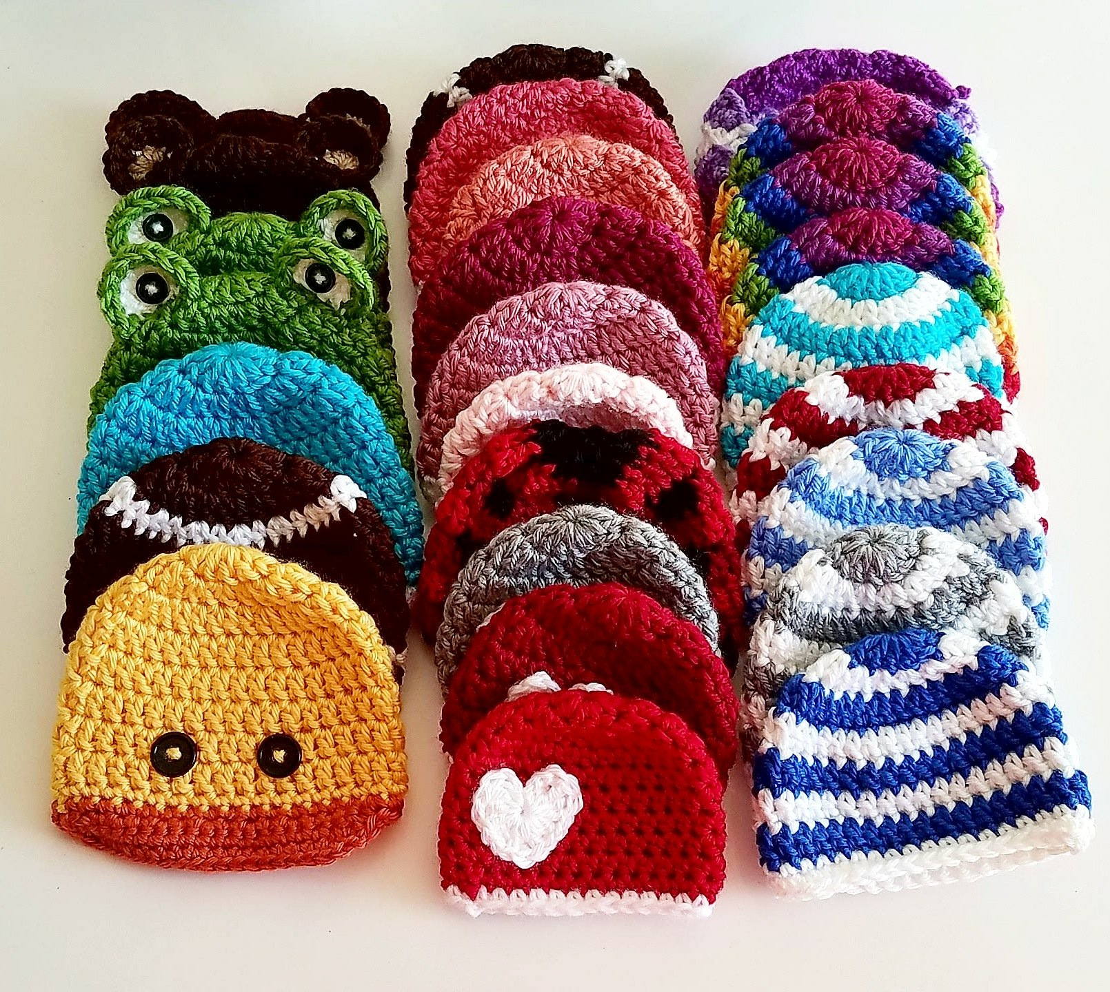 Preemie Crochet Hats Day 1: The Basic Beanie